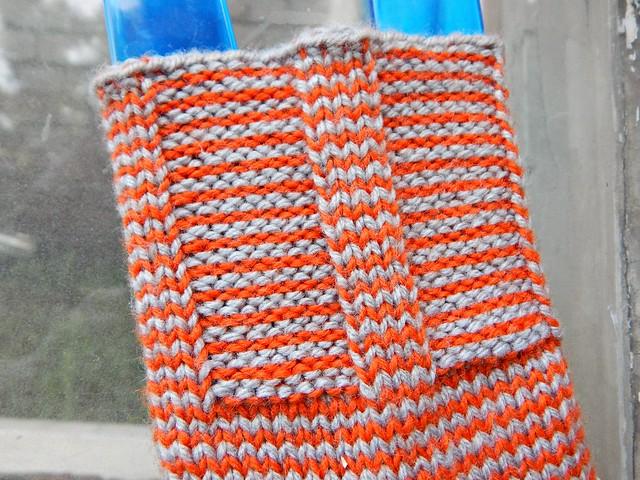 полосатые носки | striped socks - 3