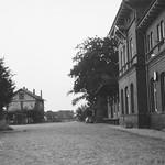 Trittau Bahnhöfe der Kleinbahn und der Staatsbahn 1969