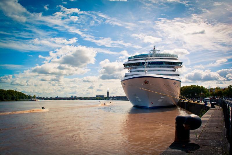 Escale du MS MARINA à Bordeaux - 30 septembre 2017
