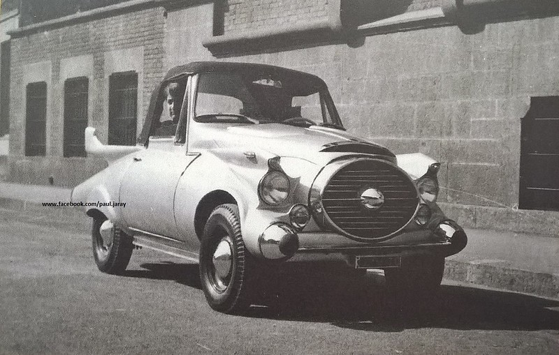 Mr. Michele Fasana, from Lingotto's Carrozzerie Speciali and his interpretation of a Fiat 500C Giardiniera