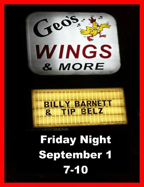Billy Barnett & Tip Belz 9-1-17
