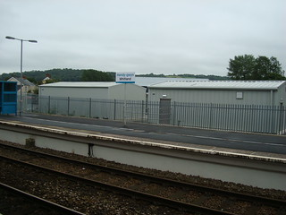 Network Rail buildings at Whitland station