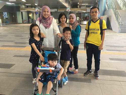 Trip to Muzium via MRT