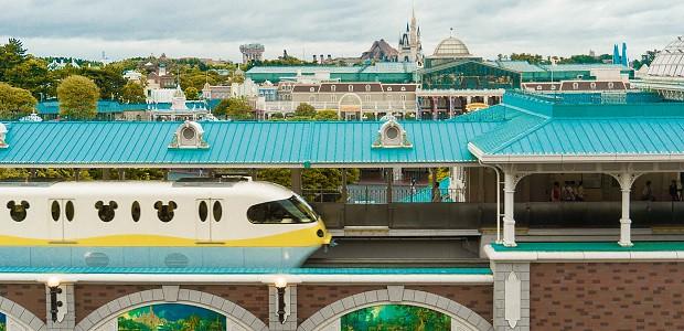 170915 東京ディズニーランドホテルタレットルームからの景色