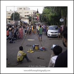 Street Performer: Ganpati Visarjan 2017