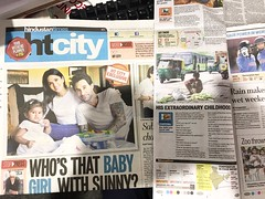 You really really have to get today's Hindustan Times for a super-beautiful story about two lucky brand-new parents and for my less happy story about an extraordinary child who sells bhuttas on the footpath!