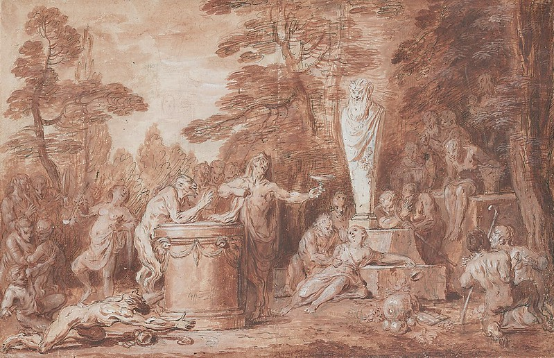 Claude Gillot - Celebration in Honor of the God Pan