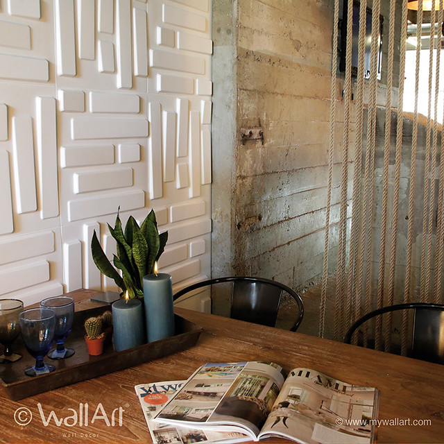 Bye-bye flat artwork. Say hello to the 3d wall panels for that WOW factor.