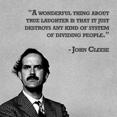 Celebrity Quotes : - John Cleese ♥...
