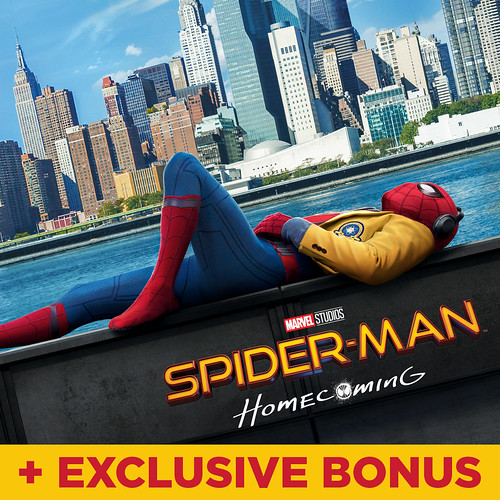 Spider-Man: Homecoming (plus bonus features)