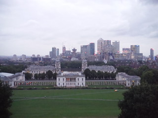 Greenwich Park: View from Viewpoint by Observatory