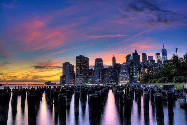 Web Brooklyn Bridge Park sunset 1