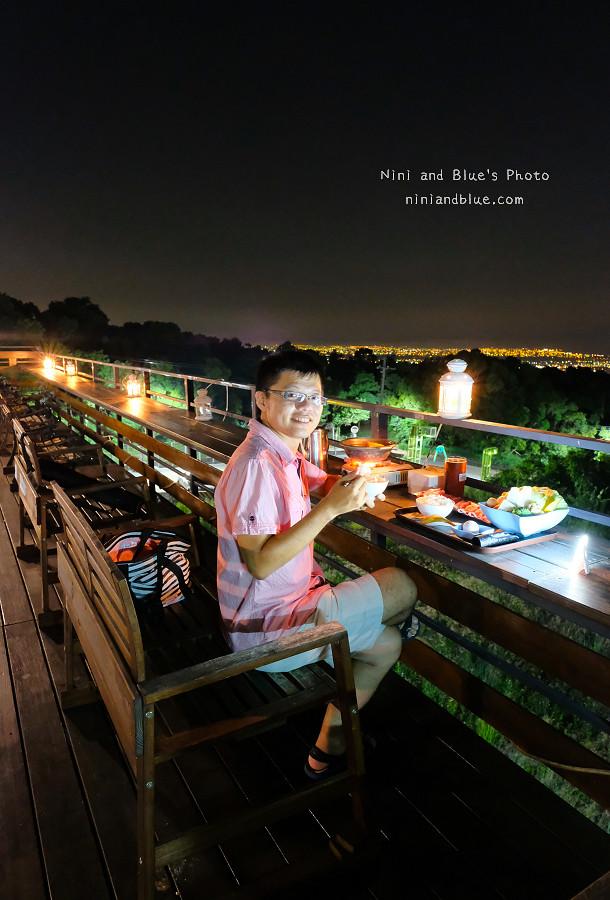 台中夜景亟餐廳庭園餐廳23