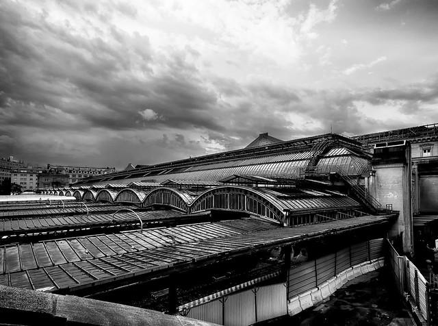 Entre ciel et trains
