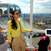 Wenji, Audrey and Grace on London Eye