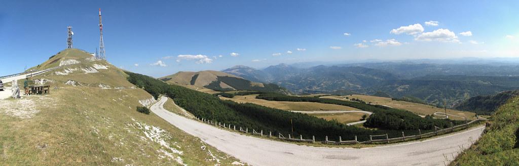 Panorama dal M. Nerone
