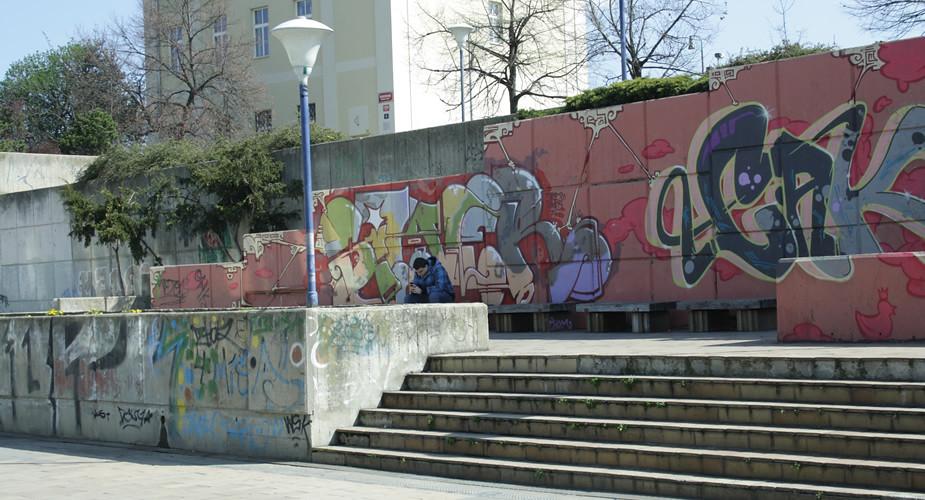 Stedentrip Praag, onbekend Praag: streetart | Mooistestedentrips.nl