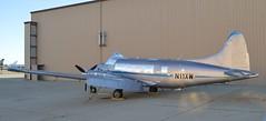 N11XW De Havilland DH104 Dove 6A c/n 04401 at Mojave CA, KMHV