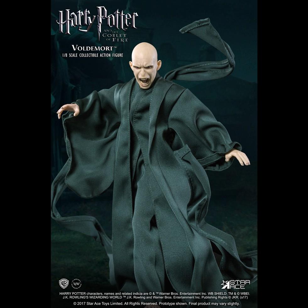 絕對不會被你牽著鼻子走!!Star Ace Toys Real Master 系列 哈利波特-火盃的考驗【佛地魔】Lord Voldemort 1/8 比例人偶作品