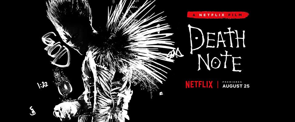 Cartaz Netflix - Death Note (2017)