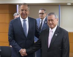 С.Лавров и Л.Дж.Сенг | Sergey Lavrov & Lim Jock Seng