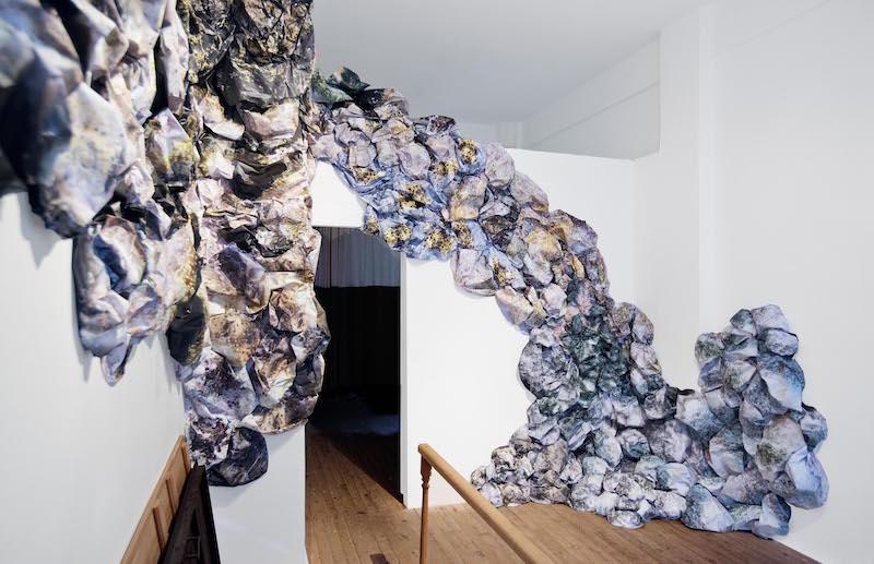 Sinem Disli  Rutubet, 2017 installation shot: Ege Kanar
