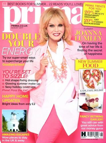 PRIMA Magazine - August 2017 - Cover