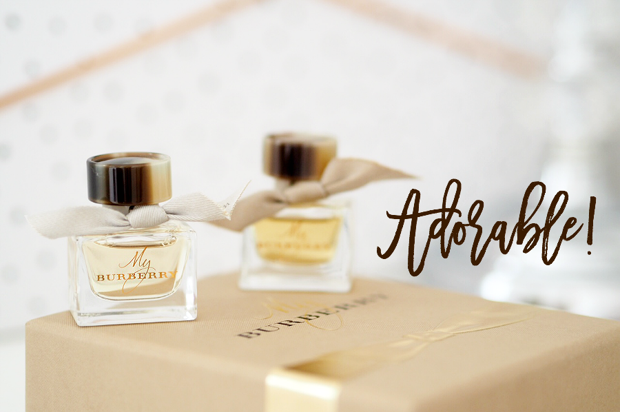 My burberry mini perfume set-2