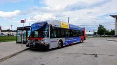 WMATA Metrobus 2009 New Flyer DE40LFA #6348