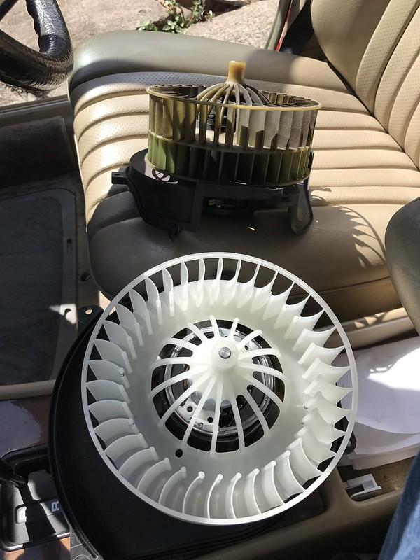 W126 Blower Motors