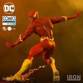 Iron Studios DC Comics【閃電俠】The Flash 1/10 比例全身雕像作品