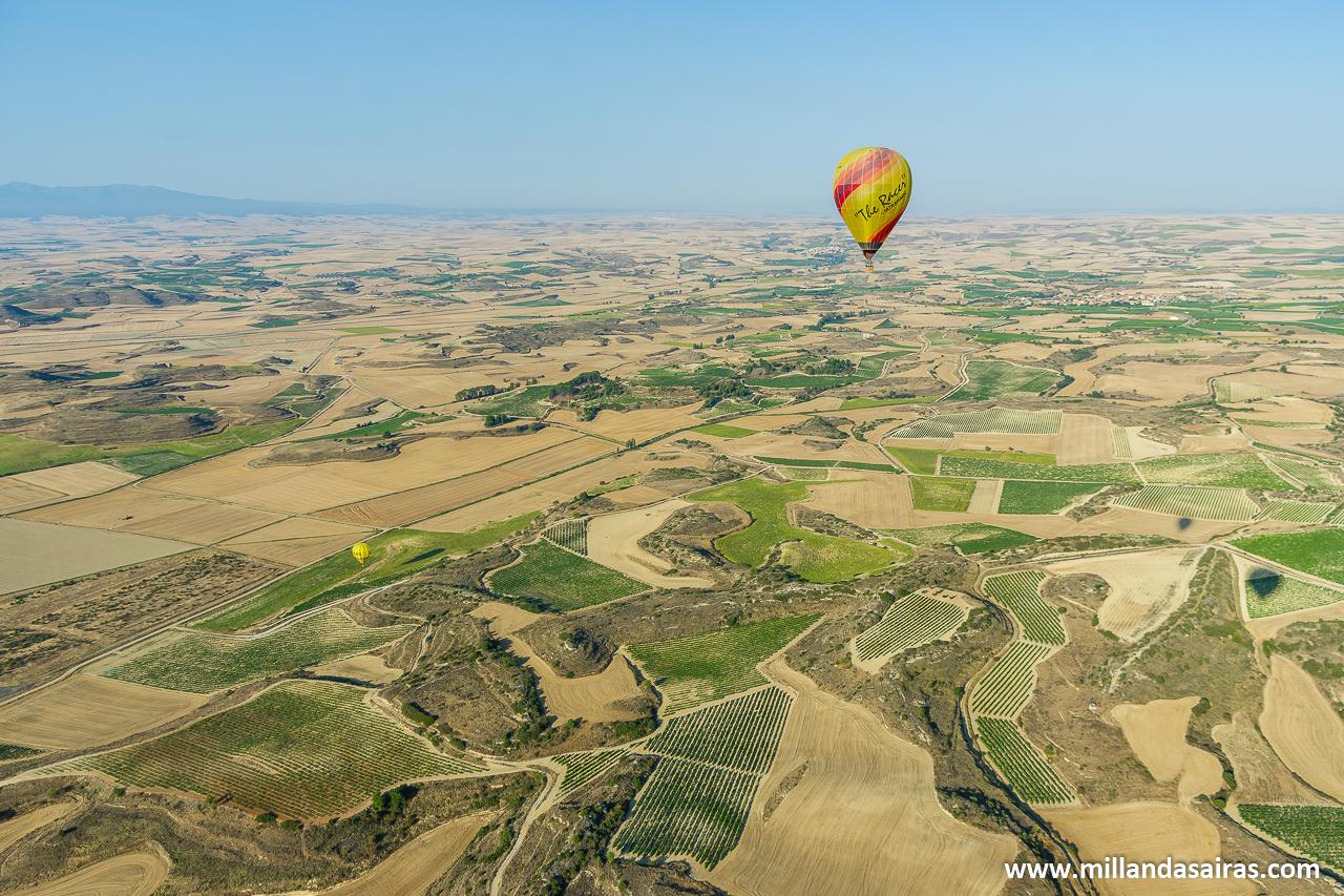 En globo por La Rioja