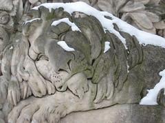 IMG_8551 Schlafender Löwe, Weilburgwappen, 24.1.2010