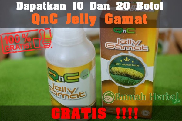 Cara Mendapatkan QnC Jelly Gamat Secara Gratis