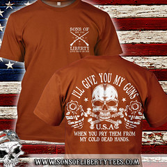 Cold Dead Hands: I'll give you my guns. When you pry them from my cold dead hands. T-Shirt