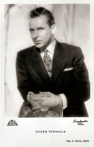 Georg Thomalla in Bezauberndes Fräulein (1953)