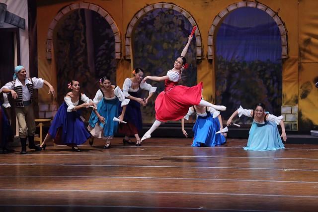 "Temporada Oficial del Ballet Nacional de Guatemala complace con ""Don Quijote"""
