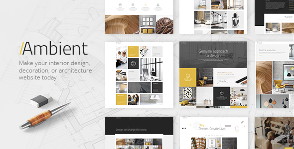 Ambient v1.0 – A Contemporary Theme for Interior Design