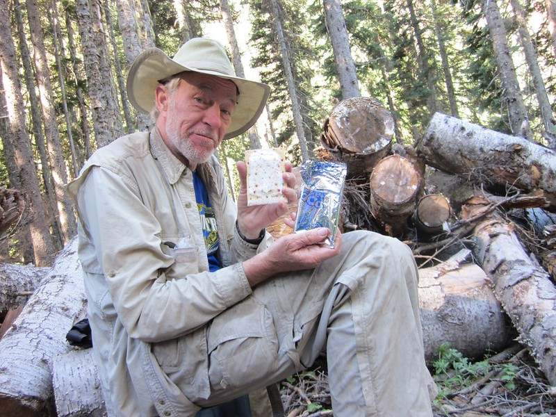 After ten days of hiking I still have a perfectly undamaged Pop-Tart to eat for lunch - almost a miracle!