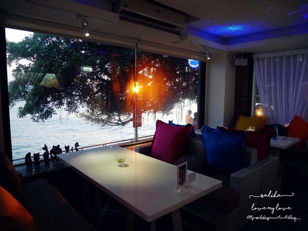 淡水老街景觀餐廳推必去必吃薦榕堤水灣餐廳 (1)