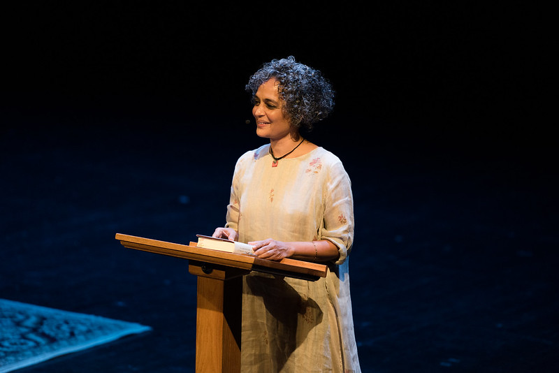Netherfield Ball – The Super-Duper Crowded Show at Arundhati Roy's New York Book Launch , Brooklyn Academy of Music