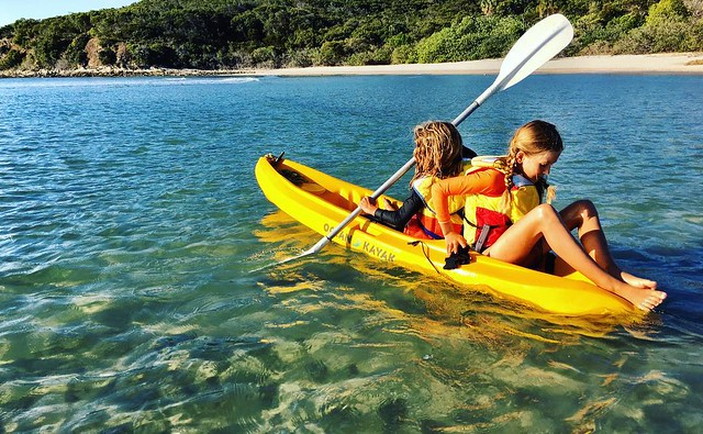 Kayak - North Keppel Island.
