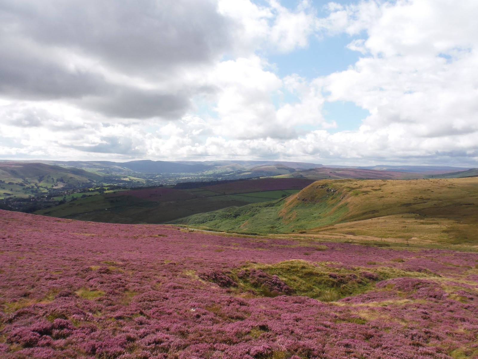 Kinder Scout from Higger Tor SWC Walk 266 - Sheffield to Bamford (via Burbage Rocks and Stanage Edge) or to Moscar Lodge [via Carl Wark and Higger Tor Alternative]