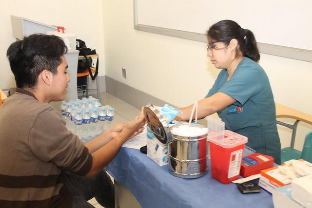 Facultad de Odontología y el Instituto Nacional de Salud del Niño – San Borja desarrollaron campaña de donación de sangre