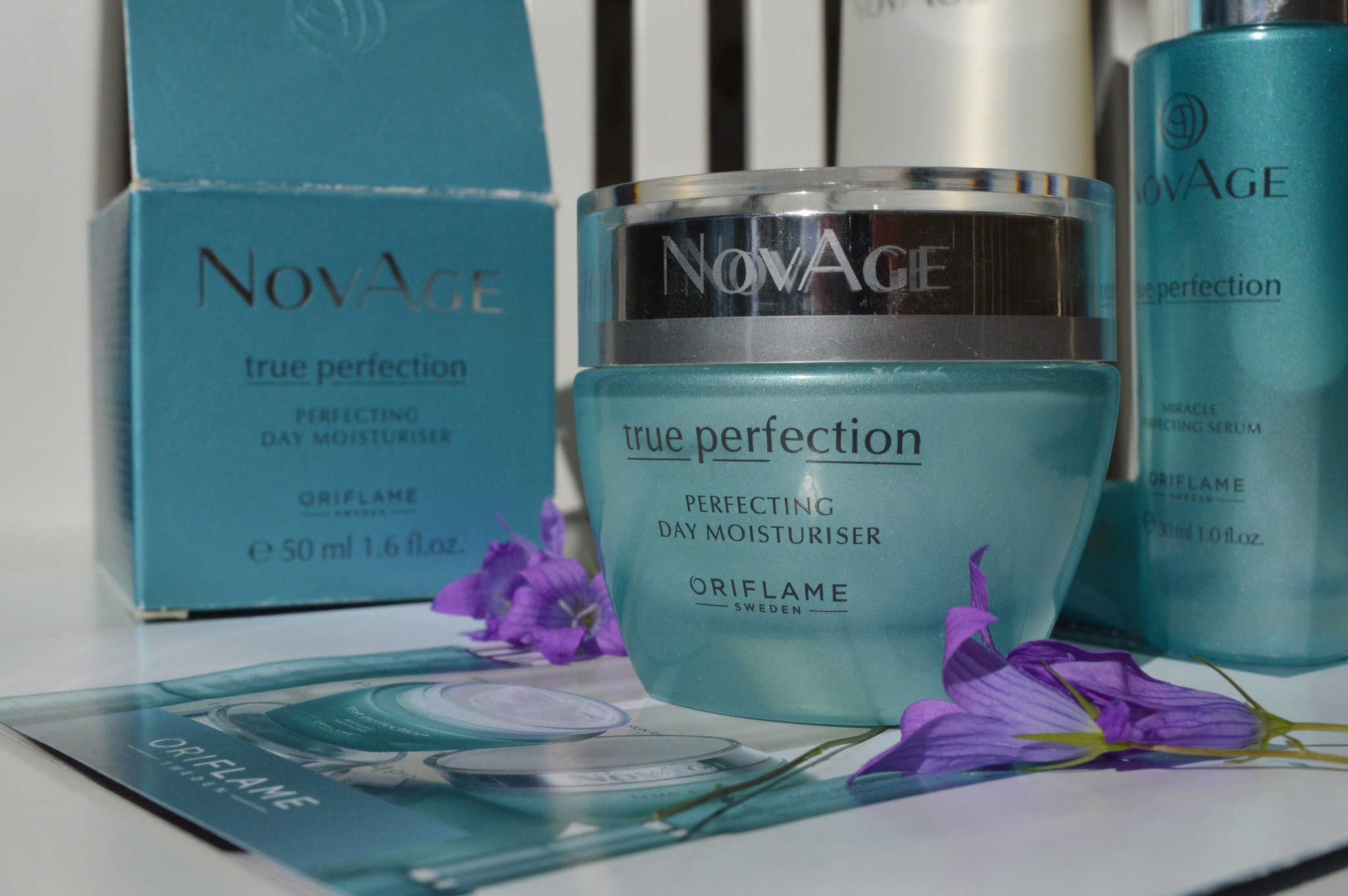 ORIFLAME NOVAGE TRUE PERFECTION DAY MOISTURISER