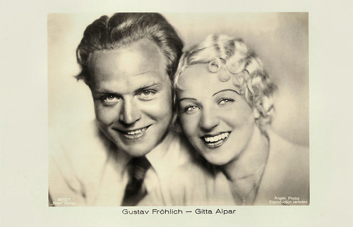Gitta Alpar and Gustav Fröhlich