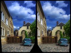 Reichenbach, Kolpingstra�e 3-D / CrossEye / Stereoscopy / HDR / Raw