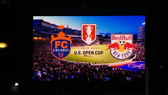FC Cincinnati versus Ny Red Bulls