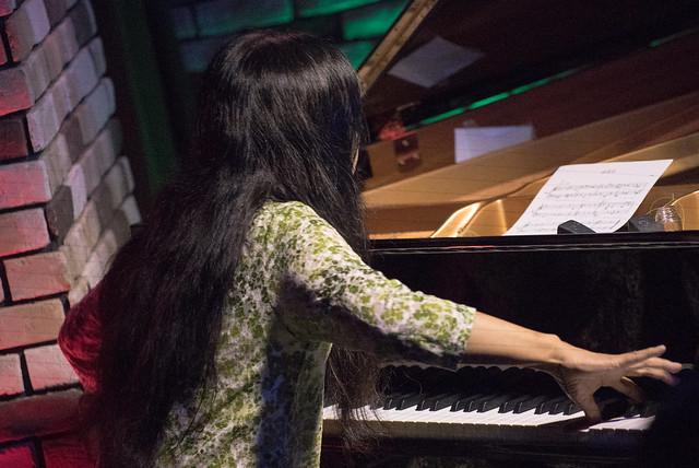 Satoko Fujii Quartet live at Cortez, Mito (Japan), 19 Aug 2017 -7S-00166