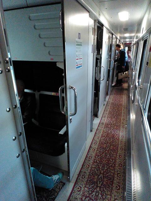 乌克兰750次火车内部